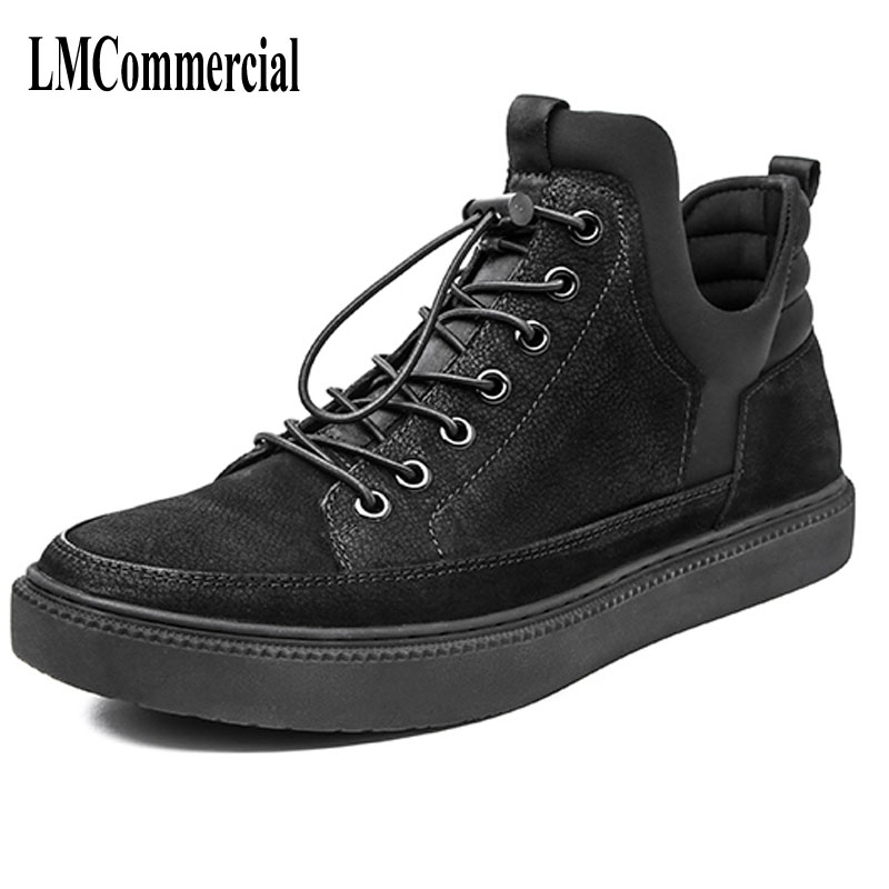 autumn winter men shoes 2017 new trend of Korean all-match young men leather British  reathable retro casual shoes boots roderick hunt annemarie young kate ruttle kipper s first match