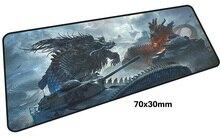 World of tanks коврик для игровой мыши 700x300X3 мм коврик для игровой мыши большой популярностью ноутбук аксессуары ноутбук padmouse эргономичный коврик