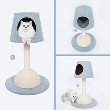 Lamp shape cat house Multifunctional Cat's Tree Scratcher Fun Post Climbing Toy Activity Centre Protect Home Cat Jumping Tower