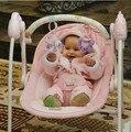 Cuna eléctrica mecedora cama columpio cuna de bebé silla mecedora cuna mecedora
