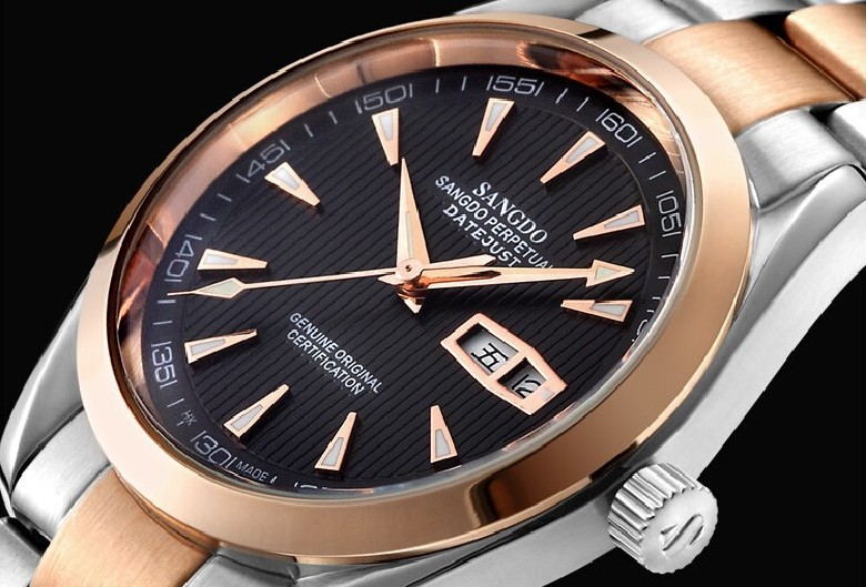 40mm Sangdo Business watch Automatic Self-Wind movement High quality Mechanical watches Auto Date Men's watch 042B женские брюки 042b 1111