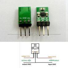 Dykb DC DCステップダウン & ステップアップコンバータモジュール 8v 3v 3.2v 3.7v 5 に 3.3vブースト & バック低ノイズ安定化充電