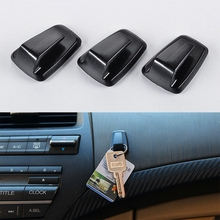3 Pcs Mini Car Hook Hanger with Double-sided Adhesive