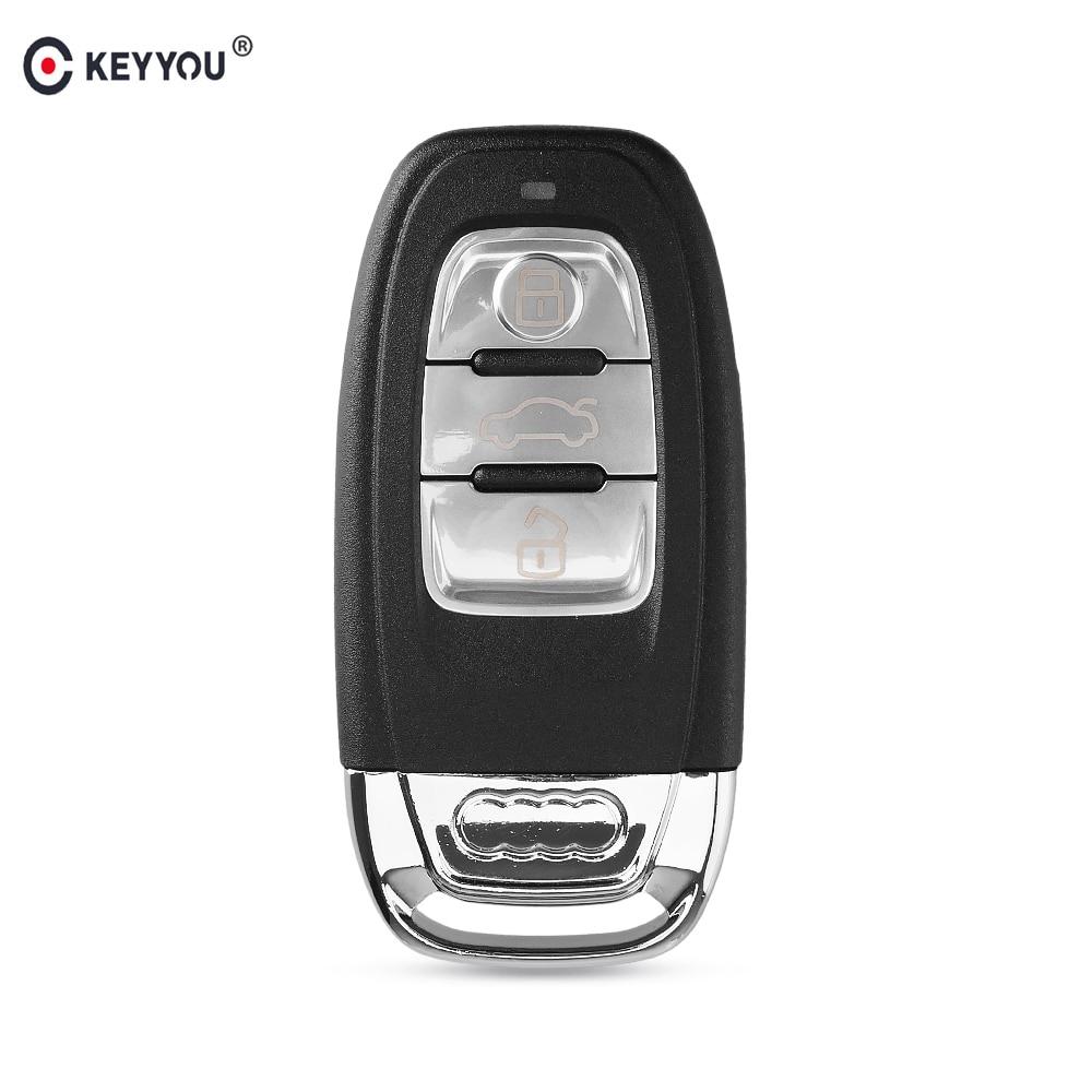 KEYYOU 5x For Audi A4l A3 A4 A5 A6 A8 Quattro Q5 Q7 A6 A8 Remote