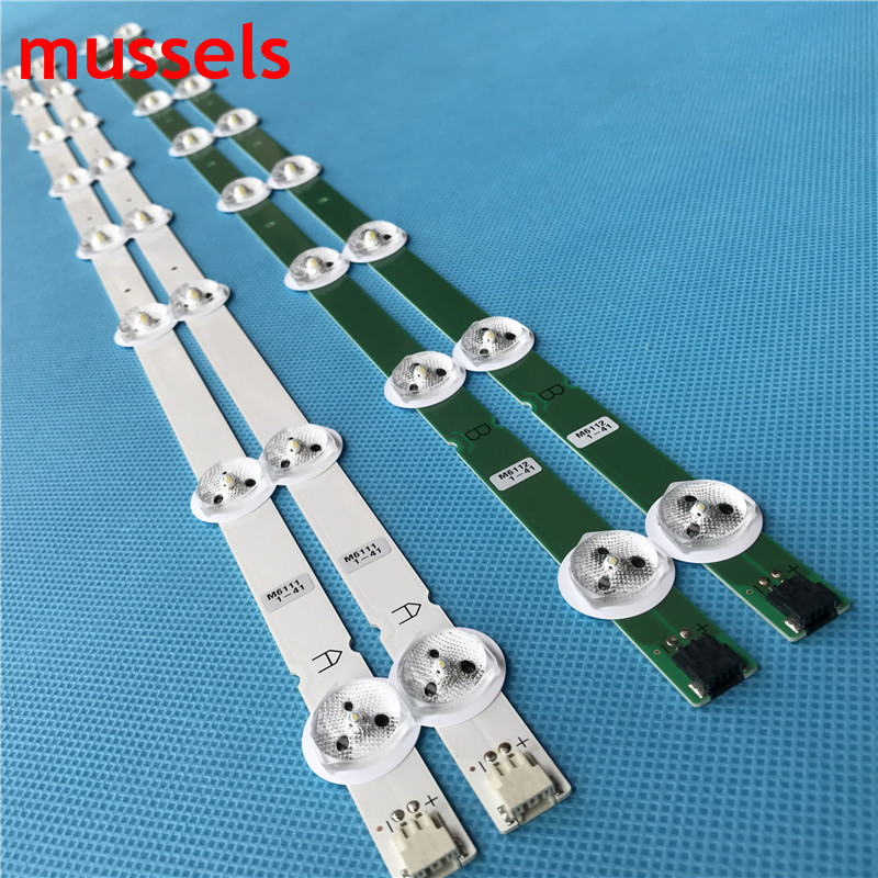 """Image 2 - LED Backlight Strips For 32"""" LG TV L32F1500 3D 6916L 1220A 6916L 1219A 6916L 1111A 6916L 1112A LED32M3560PDE LC320DXN(SF)(U3)-in Industrial Computer & Accessories from Computer & Office"""