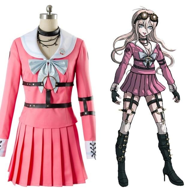 b38a538edc Aliexpress.com : Buy Danganronpa V3: Killing Harmony Iruma Miu Rabbit  Cosplay Costume Halloween Christmas Full Sets from Reliable dress cosplay  ...