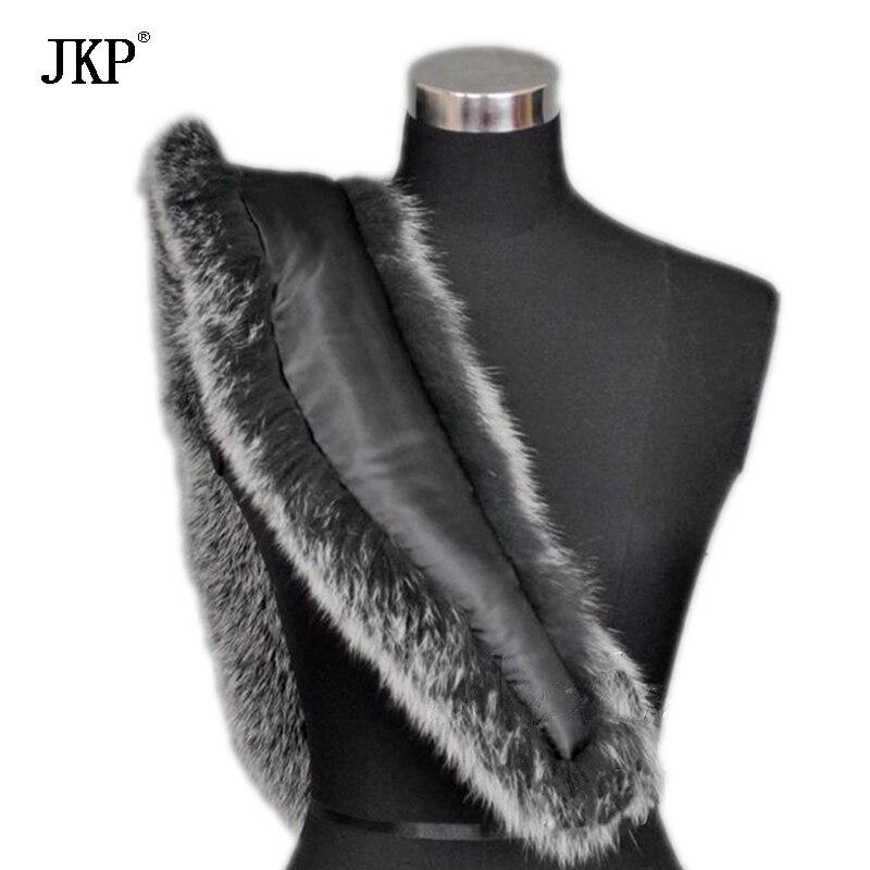 Zimske ženske stvarne krznene ovratnice od lisice, krznene kapice - Pribor za odjeću - Foto 4