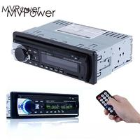 MVPower 1Din Car MP3 Player Radio Auto Audio Stereo 12V Support FM SD AUX USB Remote Control Bluetooth phone Phone Charge