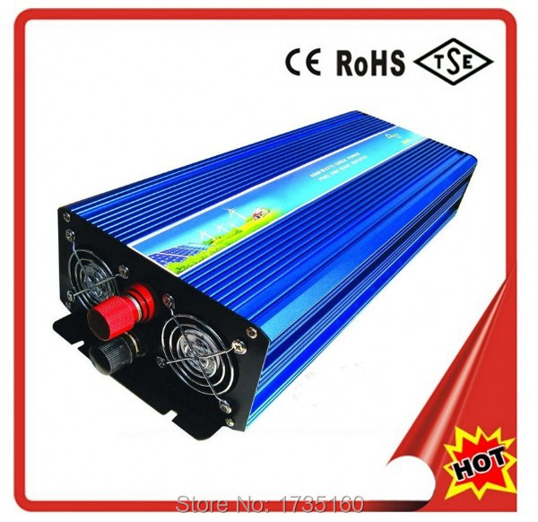 Peak Power 6000W Solar Converter Pure Sine Wave,Rated 3000W 3KW Solar Inverter,12V 24V 48V DC To 110V/ 220VAC,50/60 HZ