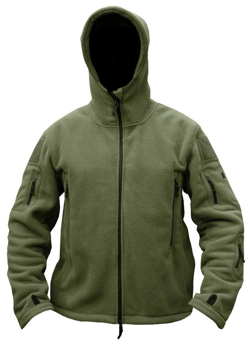 HTB1mFabKr1YBuNjSszhq6AUsFXa9 Military Man Fleece Tactical Softshell Jacket Polartec Thermal Polar Hooded Outerwear Coat Army Clothes