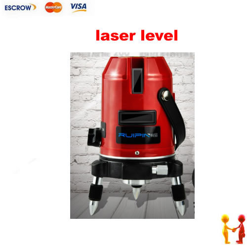 Hot sale 2 lines 1 point Cross line laser, laser level, infrared rotary laser level. Free shipping cross line laser the tool measuring laser leveler 5 lines 1 point 4v1h laser level