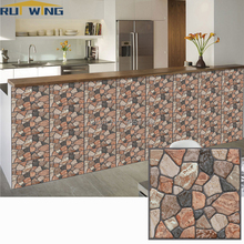 30*30cm Self Adhesive Wallpaper PVC Waterproof Stone Wallpapers Brick Wall Home Decorative Wall Stickers home decoration 3d landscape wallpaper stone wall flower lilac flower decorative painting decorative brick wall