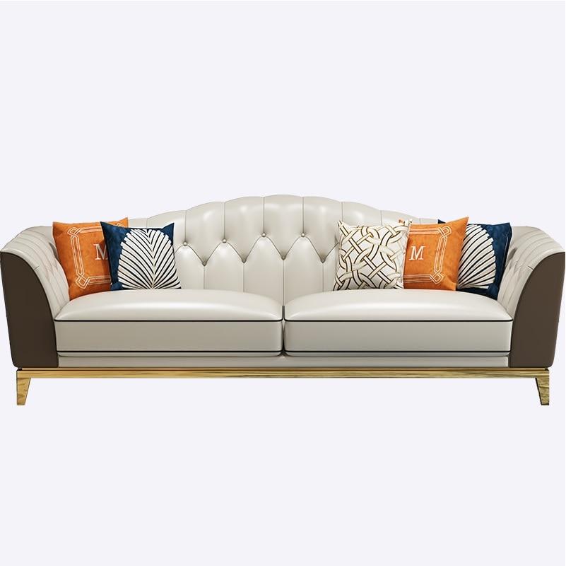 HongKong Design Tufted Sofa Set