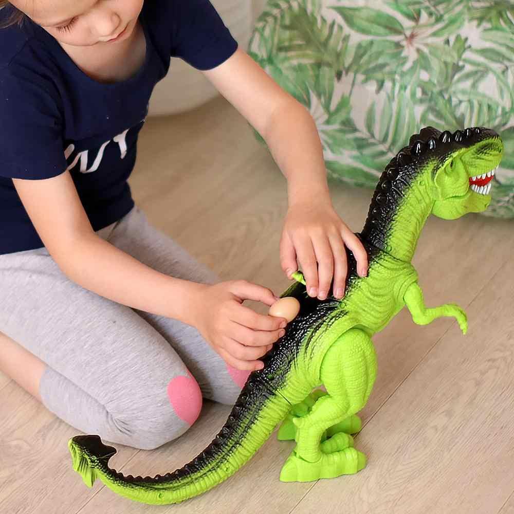 Jurassic Park Brinquedo Grande Modelo de Dinossauro Brinquedos Eletrônicos para o Som da Criança para o Menino Ovo Animais Jogo de Ação Figura One Piece casa Deco