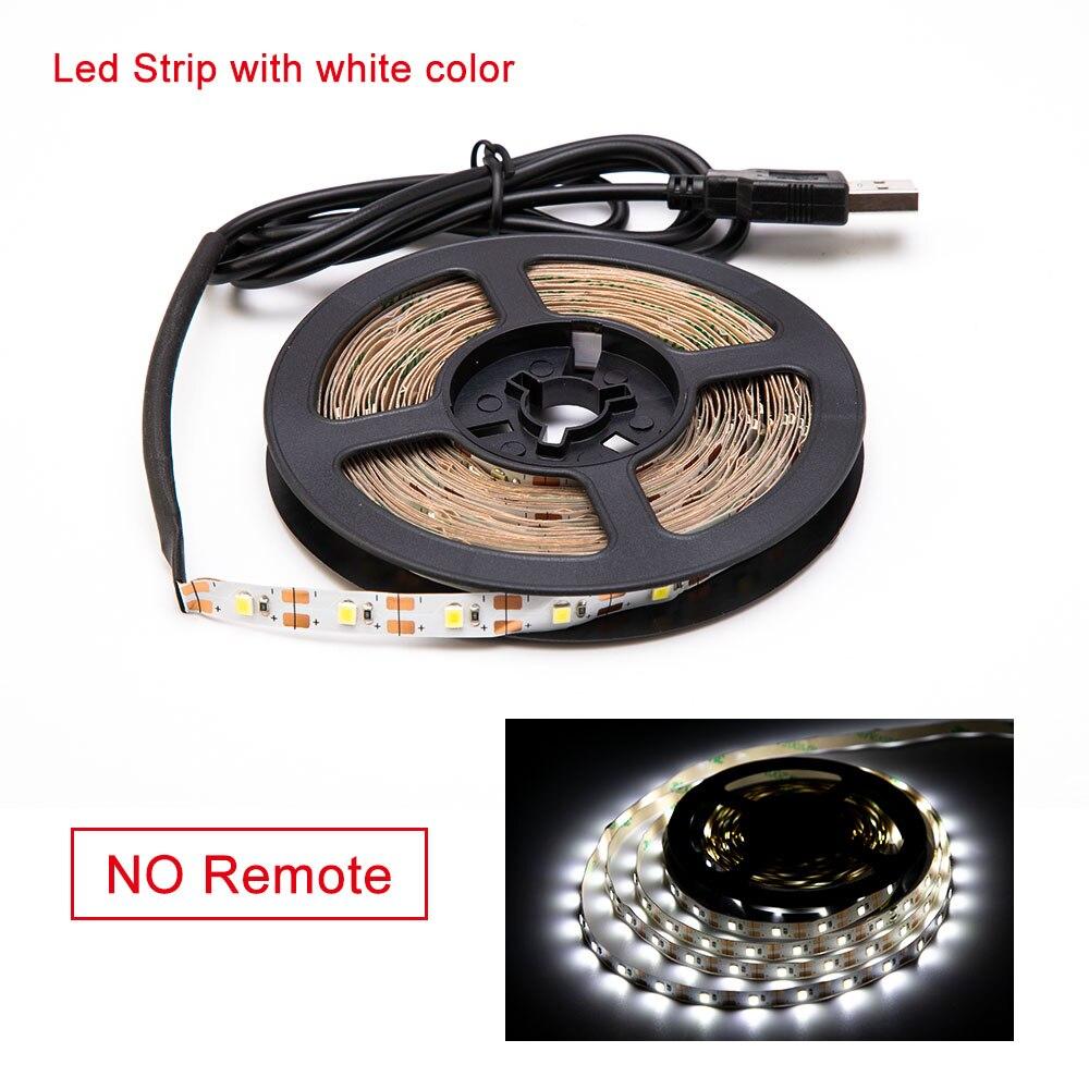 HTB1mFbcavb2gK0jSZK9q6yEgFXaR 5V USB LED Strip light RGB 2835SMD Flexible LED light Tape Ribbon 1M 2M 3M 4M 5M HDTV TV Desktop Screen Backlight Bias lighting
