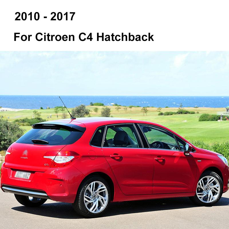 REFRESH Щетки стеклоочистителя для Citroen C4 Hatchback / Coupe / Sedan / Aircross Fit Pinch tab / Push Button / Hook Arms с 2004 по год - Цвет: 2010 - 2017 (Hatch)
