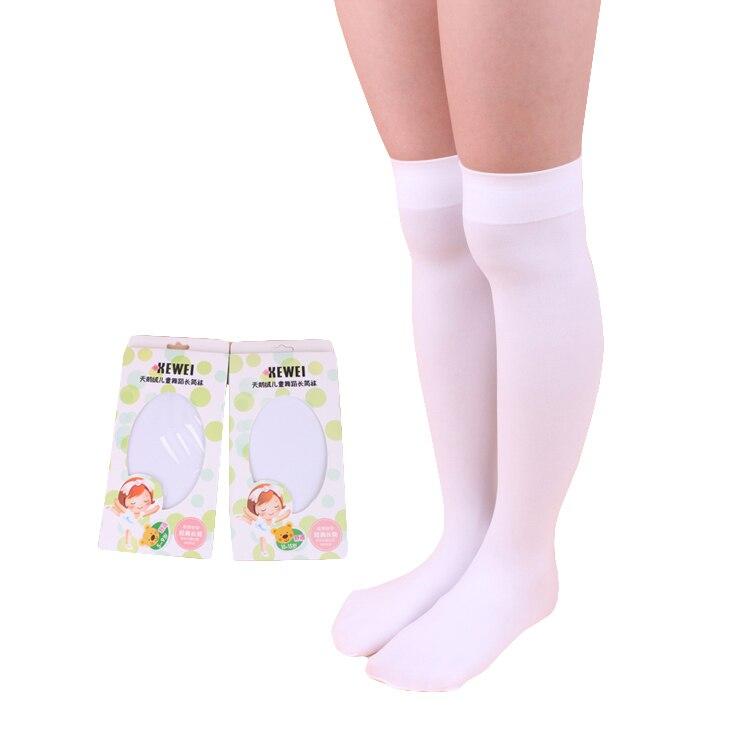 High Elasticity Girl Cotton Knee High Socks Uniform Pink Popsicle Women Tube Socks