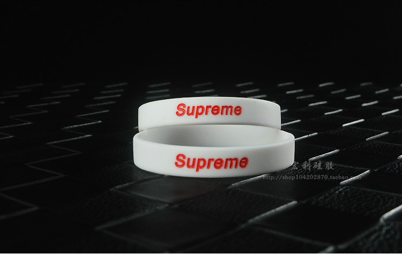 Supreme Silicone Bracelet