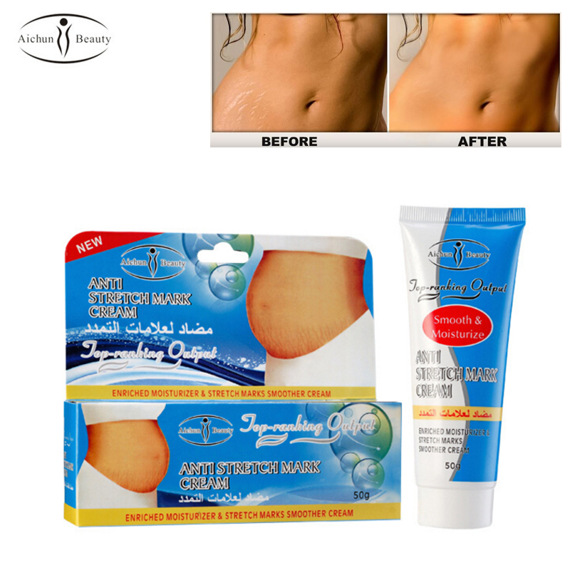 Women Stretch Mark Cream Prevention & Repair Pregnancy Marks Removal Remove Scars Body Moisturizer 50g