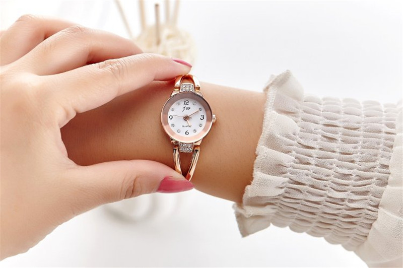 New Fashion Rhinestone Watches Women Luxury Brand Stainless Steel Bracelet watches Ladies Quartz Dress Watches reloj mujer Clock 13