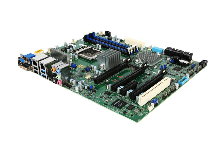 OEM X11SAT-F E31200v5 Single 1151-pin C236 DDR4 Server Workstation Motherboard IPMI