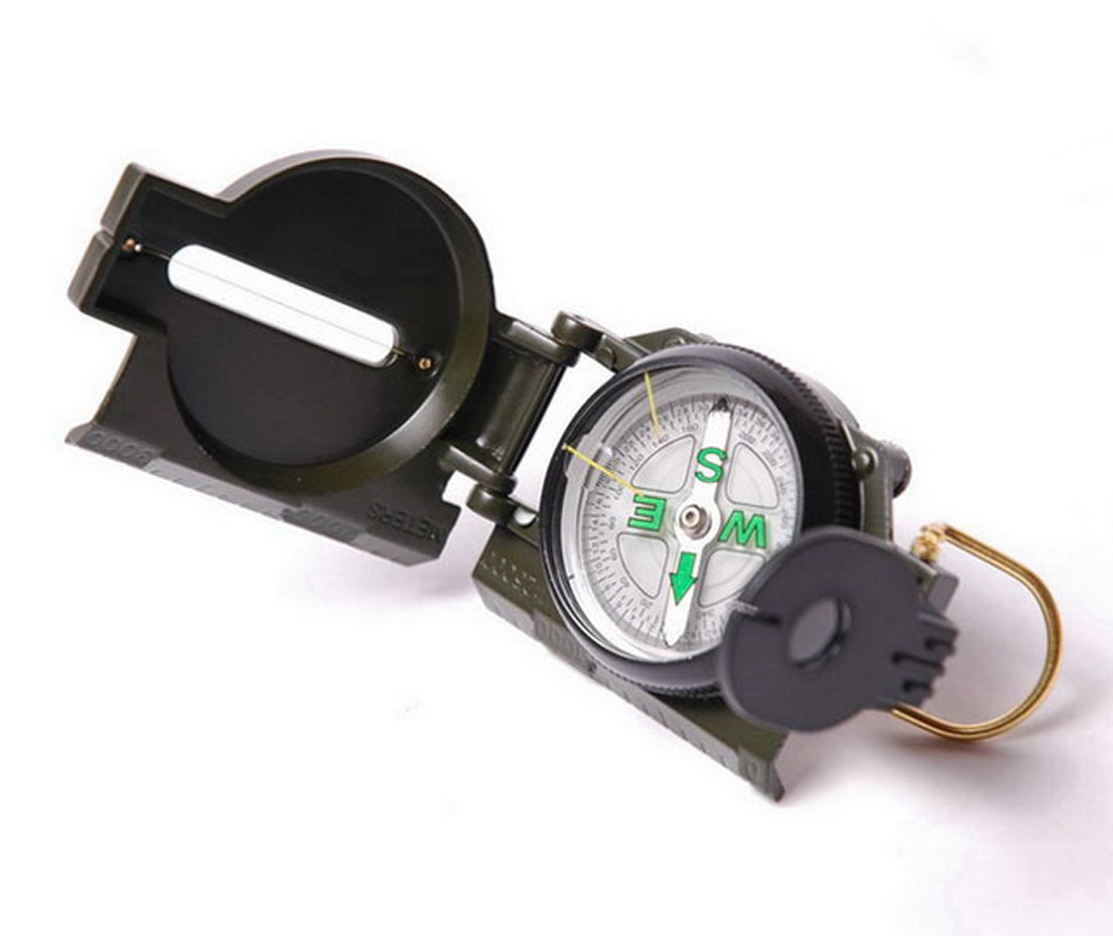 Уличный походный Профессиональный компас военный легкий портативный профессиональный компас