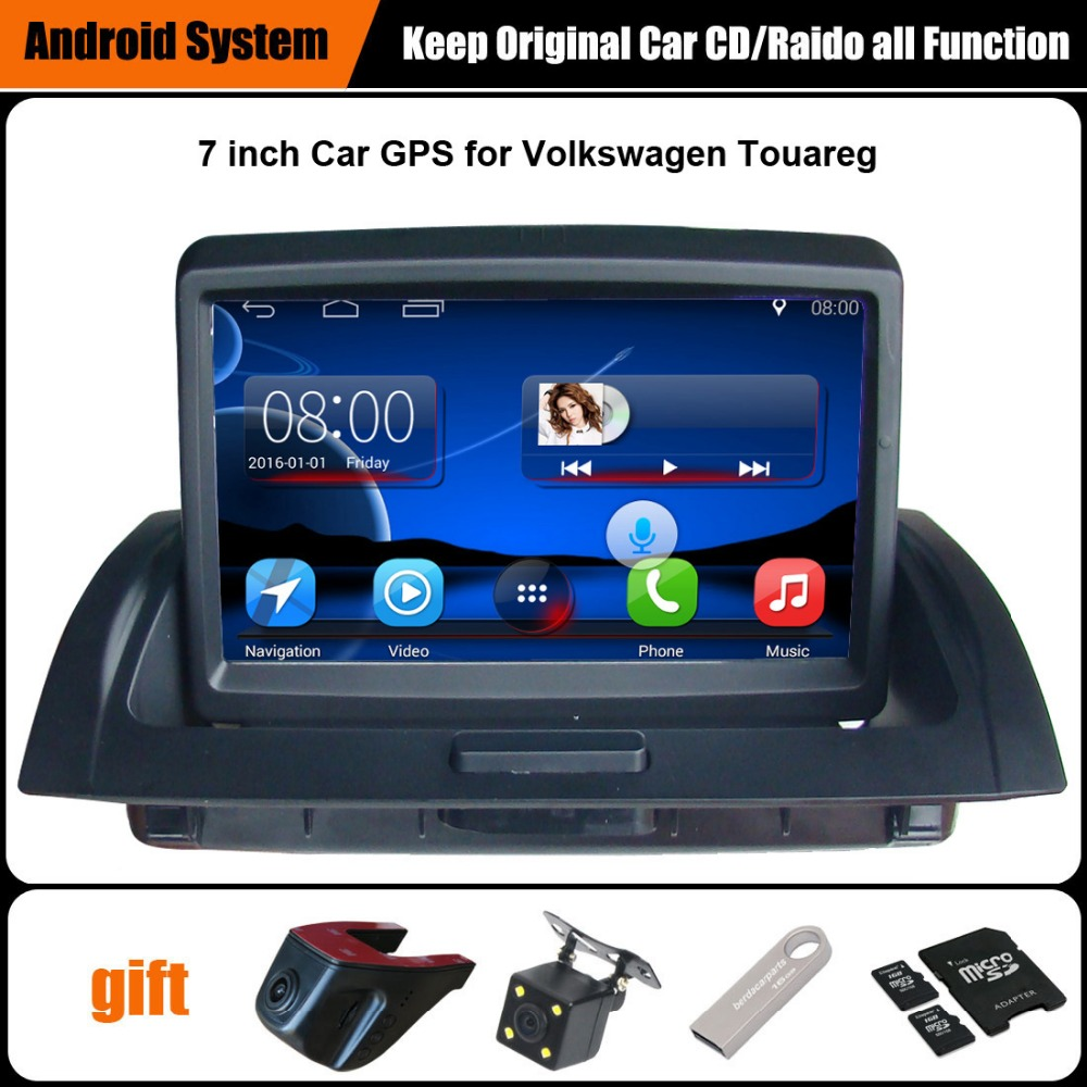 Upgraded Original Android 7 1 Car multimedia Player Car GPS Navigation Suit to Volkswagen VW Touareg