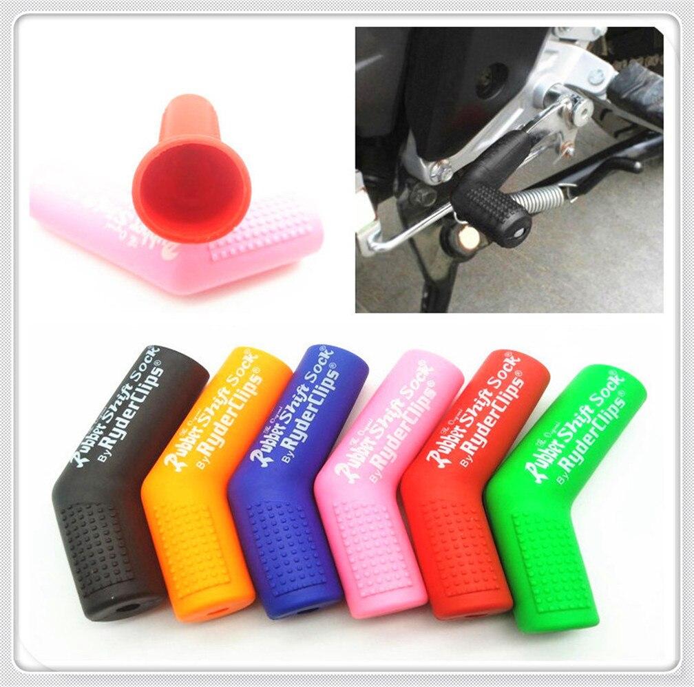 For Suzuki GSXR 1300 R Hayabusa GSX Yellow Rubber Shifter Sock Protector