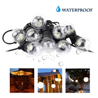 G50 Globe Festoon LED Bulbs Outdoor Lighting Garden String Lights 110V 220V Waterproof Garland Backyard Patio Wedding Party JQ