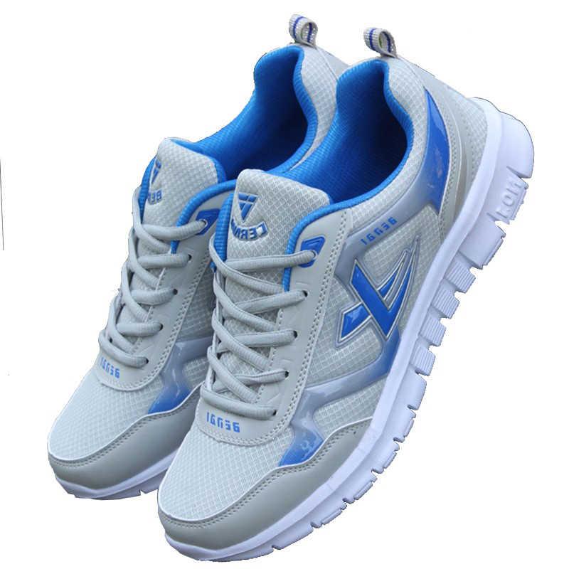 Männer Turnschuhe Atmungsaktives Mesh Männlichen Schuhe Erwachsene Mode Männer Krasovki Licht Trainer Turnschuhe Schuhe Männer Körbe Homme