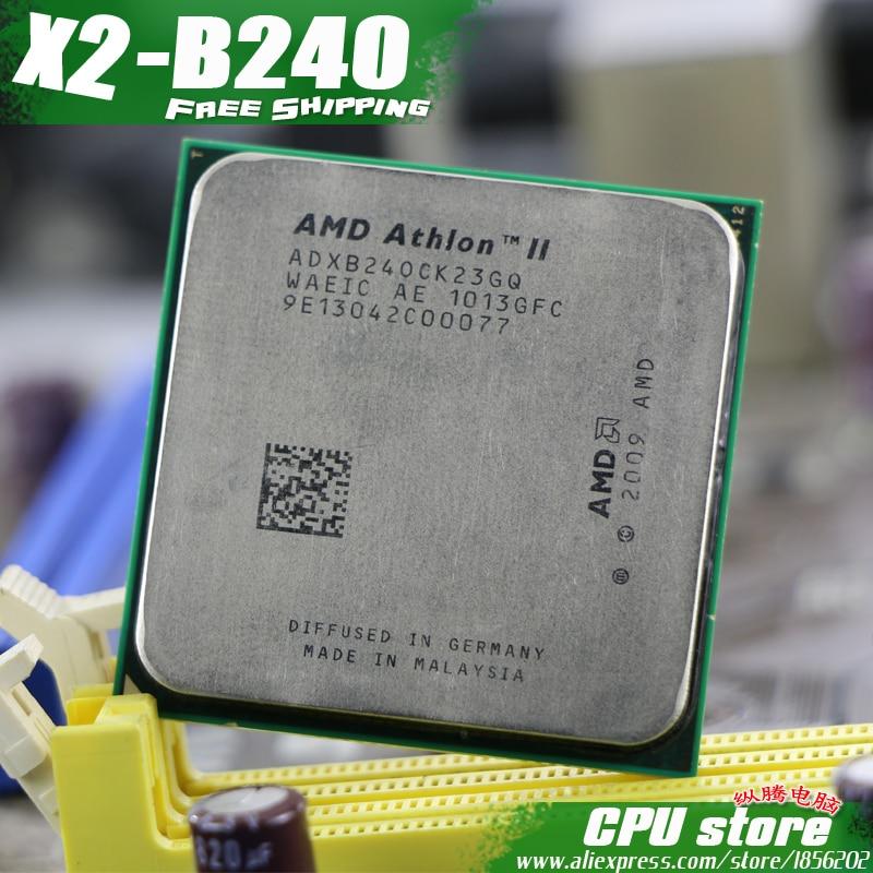 AMD Athlon X2 240 X2-240 2.8GHz Dual-Core CPU Processor ADX240OCK23GM ADX240OCK23GQ Socket AM3 938pin