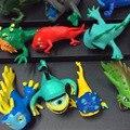 14 Шт./компл. Аниме Мультфильм Slugterra Мини PVC Фигурки Эволюция Версия Игрушки Куклы Ребенок Коллекция Игрушки juguetes 5 СМ Горячая