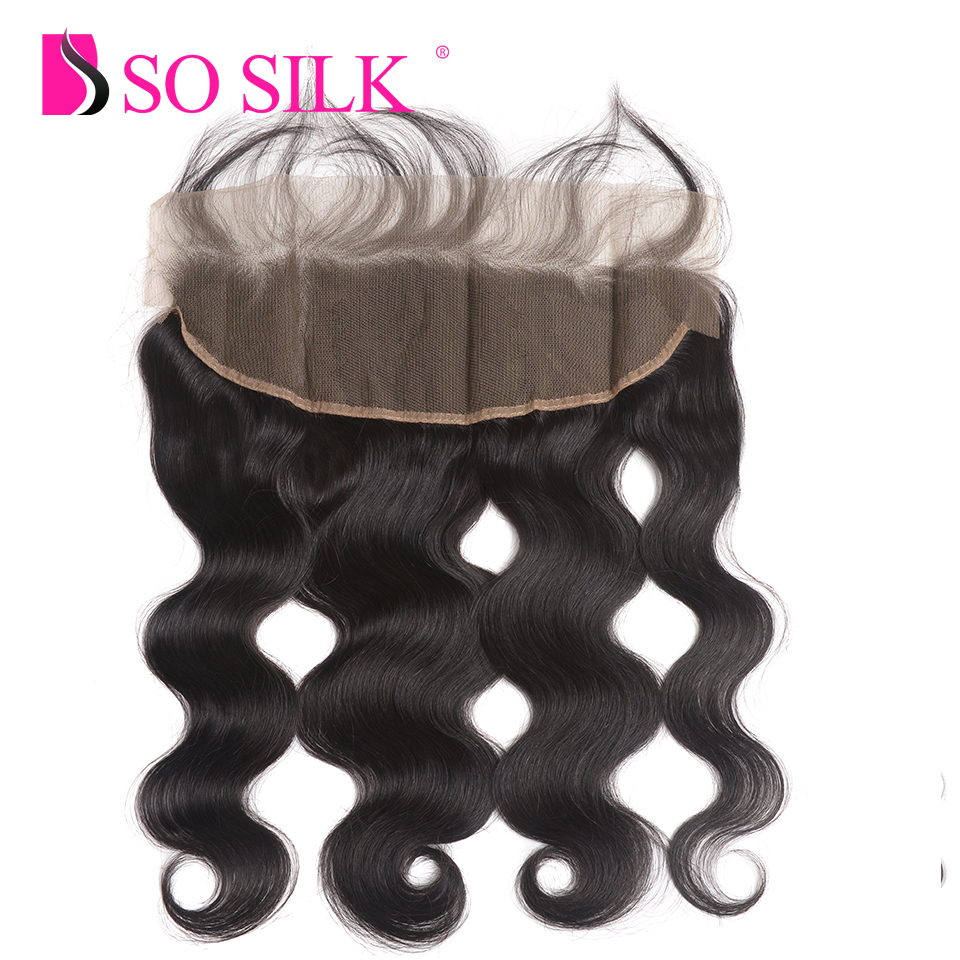 Peruvian Body Wave 3 Bundles With Lace Frontal Closure 100% Human Hair Bundles With Closure 13X4 Remy Hair Weave Extensions #1B