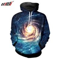 UJWI Space Galaxy Hoodies Men Sweatshirt Hooded 3d Brand Clothing Cap Hoody Print Paisley Nebula Jacket Long Sleeve Sweats 6XL
