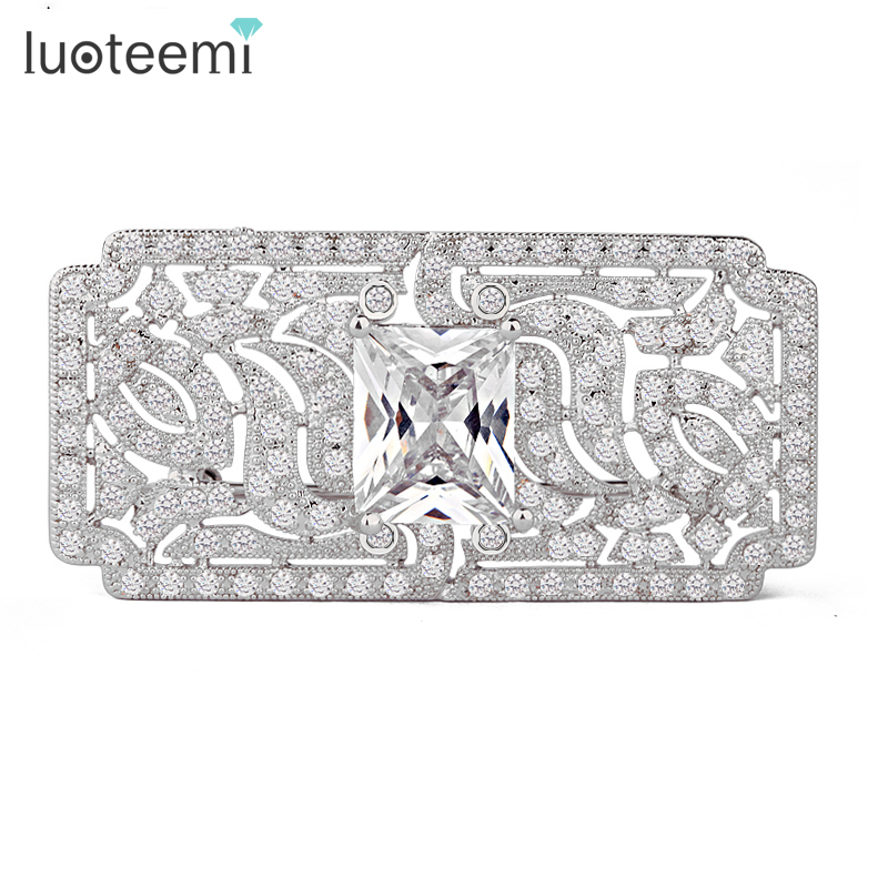 Teemi  2014 Sale New Arrival Broches Brooch AAA Cubic Zirconia Luxury Wedding Free Shipping