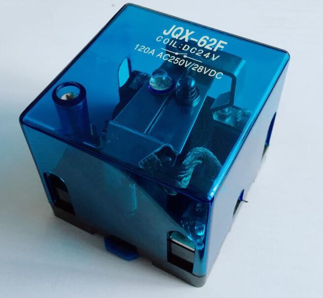 JQX-62F 1Z 120A Haute-puissance relais DC12V DC24V AC110V AC220V