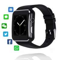 X6 Bluetooth Smart Watch Sport Passometer Smartwatch With Camera Support SIM TF Card Whatsapp Facebook For Mobile Phone