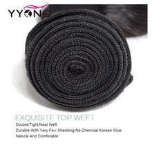 Yyong Волосы 6x6 Закрытие С Пучками Remy Индийская Объемная Волна 3 Связки С 6x6 Кружева Закрытие