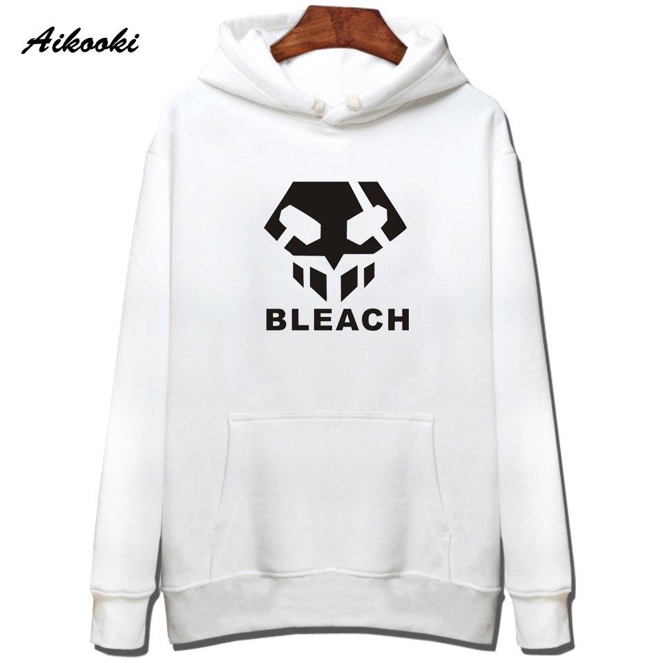 2018 Fashion Bleach Hoodies Männer/frauen Harajuku Schwarz Baumwolle Bleach Sweatshirt Männer/frauen Hip Hop Hoodies Männer Kleidung 4xl