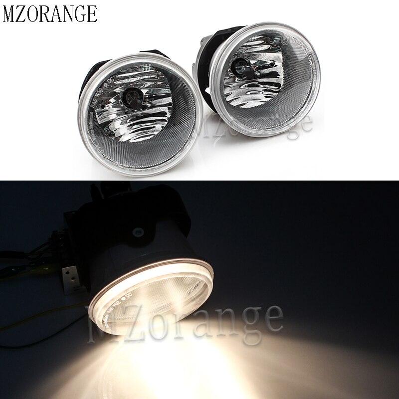2Pcs Front Fog Light Fog Lamp for Chrysler 300 C LX 2004 2005 2006 2012 Driving