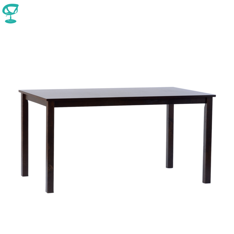 T302Wenge Barneo T-302 Wooden Breakfast Interior Table Kitchen Kitchen Furniture Dining Table Wenge Free Shipping In Russia