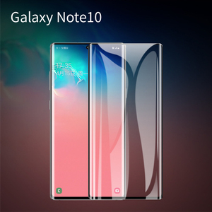Image 2 - 10PCS/Lot 3D Curved Glass For Samsung Galaxy Note 10 5G Full Cover 9H Protective film Screen Protector For Samsung Note 10 Pro
