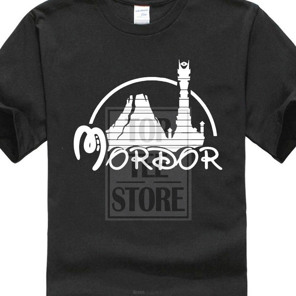 2017 New Hipster Mordor Lords Of Rings Tolkien Hobbit 3D Print Men's 100% Cotton   T     Shirt   Summer Popular Short Sleeve Tees