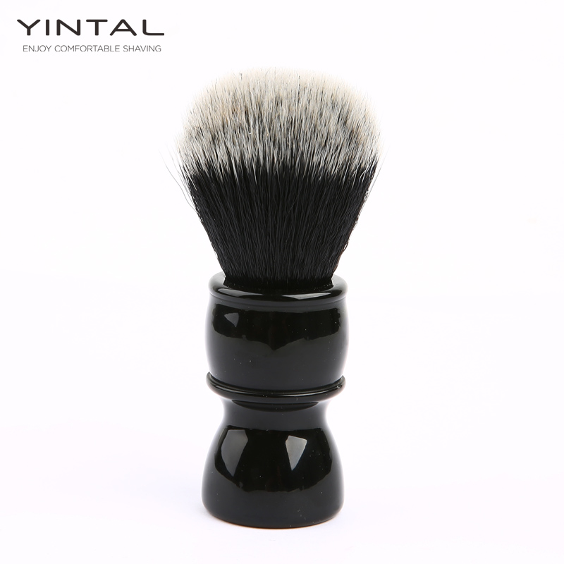 Shaving Brush Resin + Fiber Hair Men's Shaving Accessories Environmental Shaving Brush Soft Fiber Hair