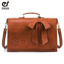 ECOSUSI 15.7' Laptop Messenger Bag For Women 2019 Designer Bags Famous