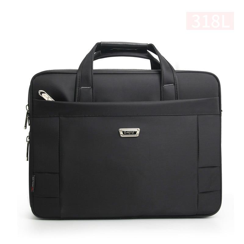14 15 16 Inches Men's Briefcase Business Large Briefcases Waterproof Extensible Business Computer Bag Men Laptop Handbags