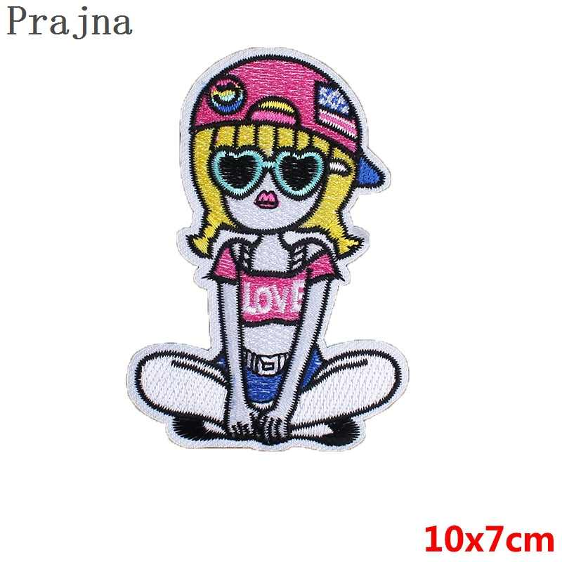 Detail Feedback Questions About Prajna Kawaii Girl Patch Ironing