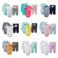2016 new clothing sets baby clothing baby girl and boy 3 pieces bodysuits baby rompers retail BCS111
