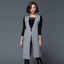 2016 new hot sale font b women s b font autumn winter long section loose knit