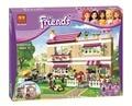 Модель строительство комплект совместим с lego city Подруги оливии дом 3D блок учебный корпус игрушки хобби для детей